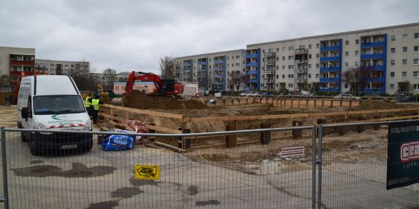 Baustelle am 27. März 2019