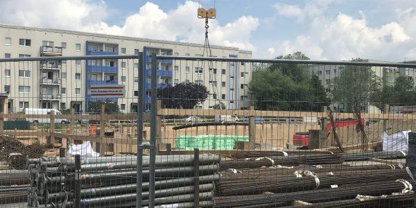 Baustelle am 21. Mai 2019