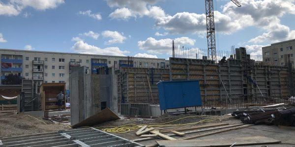 Baustelle am 13. August 2019