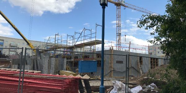 Baustelle am 5. September 2019