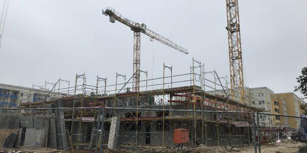 Baustelle am 24. September 2019