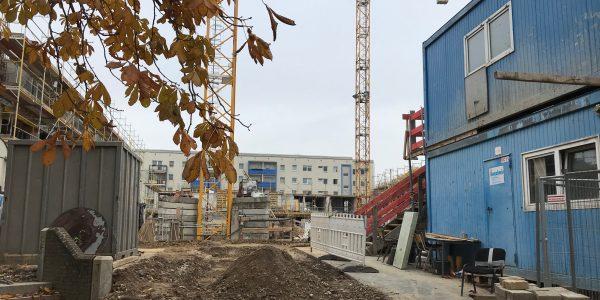 Baustelle am 13. November 2019