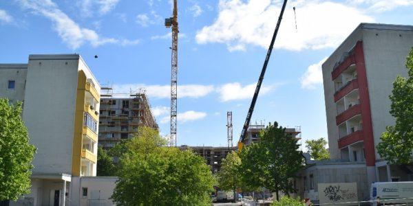 Baustelle am 6. Mai 2020