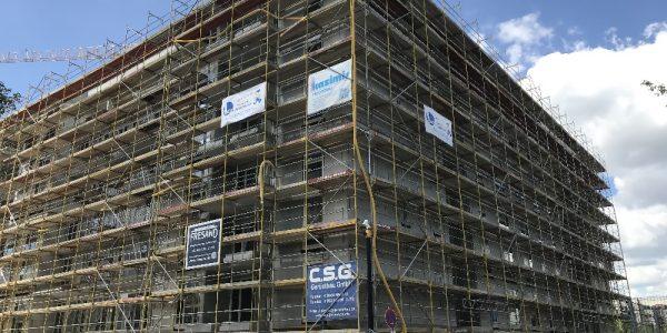 Baustelle am 26. Mai 2020