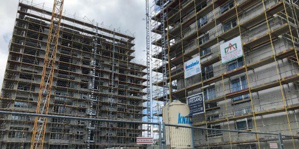 Baustelle am 14. Juni 2020
