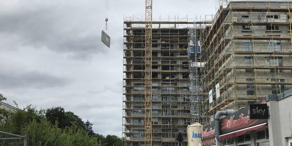 Baustelle am 30. Juni 2020
