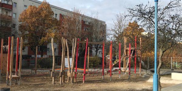 Umgestaltung Boulevard Kastanienallee am 24. November 2020