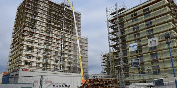Baustelle am 18. November 2020